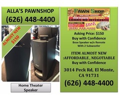 Alla's Pawn Shop Home Theater Speaker