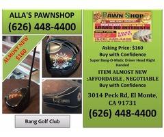 Alla's Pawn Shop Bang Golf Club