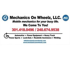 Master ASE Mobile Mechanics - We Come To You