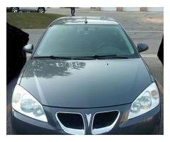 Pontiac G6 Year:2009