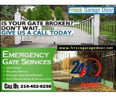 24/7 New Gate Installation in Frisco, TX | Call (214) 452-6238