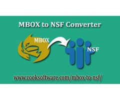 Export Batch Files with MBOX to NSF Converter  Tool
