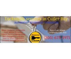 Best Locksmith Service Cutler Bay