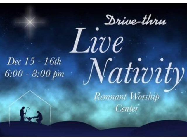 Remnant Worship Center Drive-thru Live Nativity | free-classifieds-usa.com