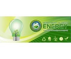 Solar & Renewable Energy | Solar Panels | Department of Green Energy