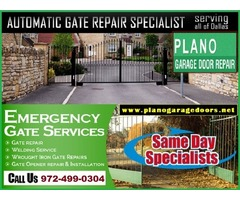 Call 9724990304 for Emergency Gate Openers Repair in Plano, TX