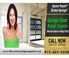 Starting only $26.95 Garage Door Opener Repair 75022