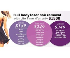 laser hair removal houston | full body hair removal