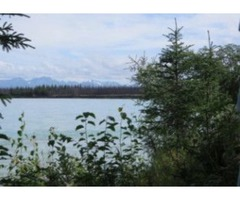 Premier Kenai Riverfront lot for sale