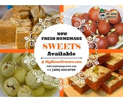 Buy Fresh Homemade Sweets in Texas Same day Door Delivery - MyHomeGrocers.com