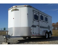 1999 Sundowner ValueLite 3 Horse All Aluminum Horse Trailer