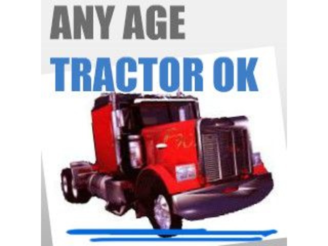 Owner Operator$-Any Age Tractor OK- AVG $2 00+/mile