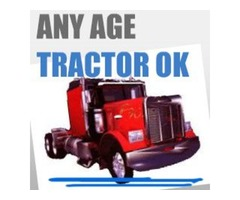 Owner Operator$-Any Age Tractor OK- AVG $2.00+/mile