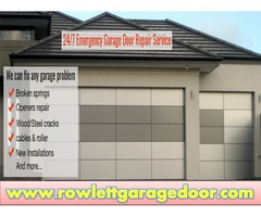 Expert Same Day Garage Door Opener Repair and Installations in Rowlett