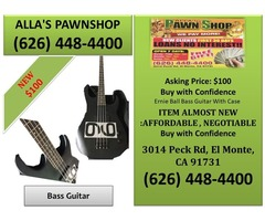Alla's Pawn Shop: Bass Guitar