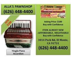 Alla's Pawn Shop : Yingjie Piano Accordion