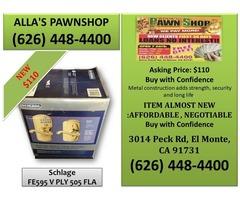 Alla's Pawn Shop : Plymouth KeypadFlex-Lock