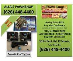 Alla's Pawn Shop : T – Drum Acoustic Pro Triggers
