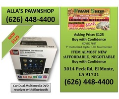 Alla's Pawn Shop : Car Dual Multimedia DVD receiver with Bluetooth