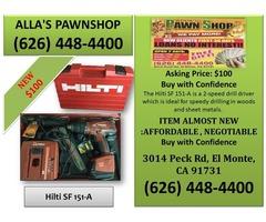 Alla's Pawn Shop : Hilti SF 151-A