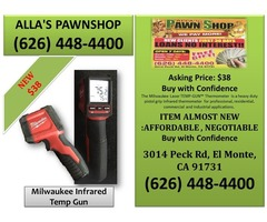 Alla's Pawn Shop : Milwaukee Infrared Temp Gun
