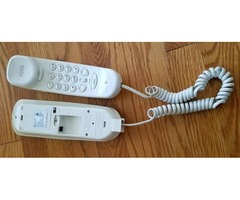 PHONE CAN BE HANG ON THE WALL. $ 4