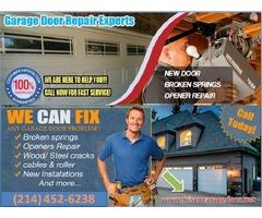 Residential New Garage Door Installation in Frisco, TX | Frisco, TX