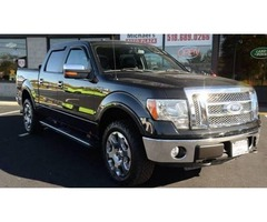 2010 Ford F-150 4x4 Lariat 4dr SuperCrew Styleside SB w/Clean Carfax