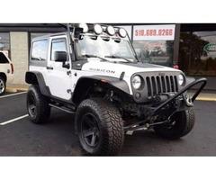 2012 Jeep Wrangler 4x4 Rubicon Hard Top 2dr
