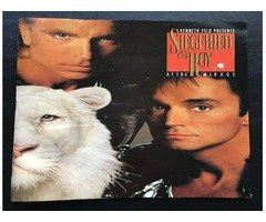 Siegfried and Roy Souvenir Program at the Mirage