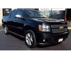 2013 Chevrolet Black Diamond Avalanche 4x4 LTZ 4dr Crew Cab Pickup