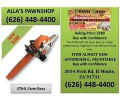 Alla's Pawn Shop STIHL Farm Boss