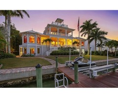 Magnificent Sarasota Bay Views Key West Style Home