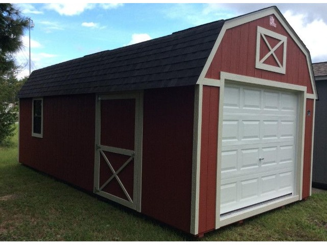 12x24 Custom Lofted Portable Building $257/mo - No Credit Check & Free Delivery | free-classifieds-usa.com