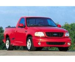 2003 FORD REGULAR CAB PICKUP TRUCK RED/BLACK 160 K MILES