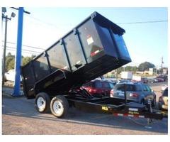 2018 Big Tex Tandem Axle Dump Trailer W/4' Sides 7'x14'