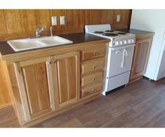 Tiny House - Spruce Split Log | free-classifieds-usa.com