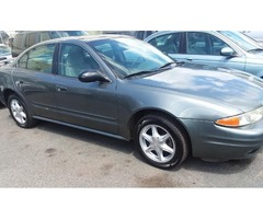 2004 OLDSMOBILE ALERO W/ AC & UP-TO-DATE