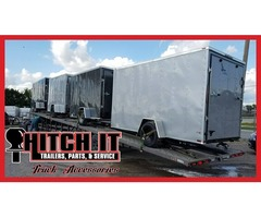 New Enclosed Cargo Box Trailers, Take the short trip to Tulsa and SAVE