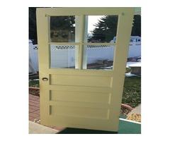 Outside door (solid core) 32 inch