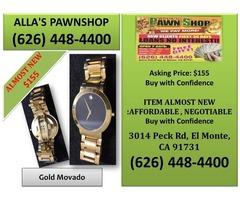 Alla's Pawn Shop : Gold Movado