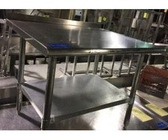 "STAINLESS STEEL EQUIPMENT STAND 36"" X 30"" 4022CC"