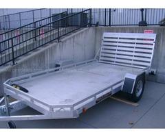 Aluma- Aluminum trailer