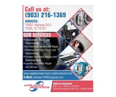 Kitchen Equipment Service and Maintenance Tyler, TX | Appliance Servicers