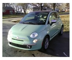2012 Fiat 500 Lounge 5 Speed Manual 63,000 miles
