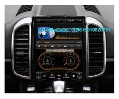 Porsche Cayenne 10.4inch radio Car android wifi GPS Vertical screen