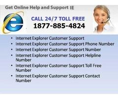 Internet Explorer Browser technical support phone number