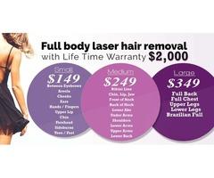 laser hair removal houston