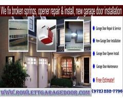 Top Garage Door Opener Repair Service Provider Company in Rowlett, TX