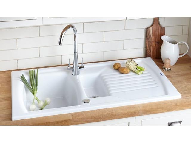 Best White Kitchen Sink Undermount Fireclay Faucetscomplete